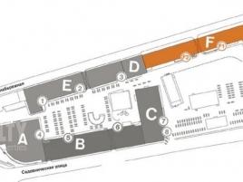 Лот № 6586, Аврора Бизнес Парк, Аренда офисов в ЦАО - План