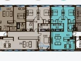 Лот № 6619, Комплекс апарт-резиденций BALCHUG RESIDENCE, Продажа офисов в ЦАО - План