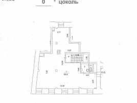 Лот № 6623, Продажа офисов в ЦАО - План