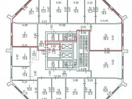Лот № 6644, Бизнес-центр Сильвер Хаус, Аренда офисов в ЮЗАО - План