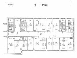 Лот № 677, Продажа офисов в СВАО - План