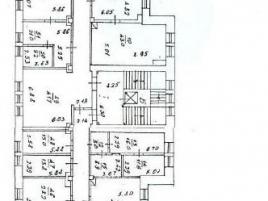 Лот № 6789, Продажа офисов в ЦАО - План