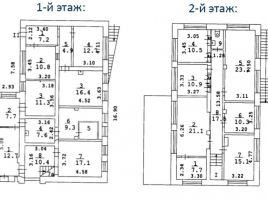 Лот № 6791, Продажа офисов в САО - План