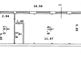 Лот № 6792, Продажа офисов в САО - План