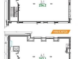 Лот № 6800, Парк Мира, Продажа офисов в СВАО - План