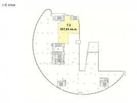 Лот № 688, Бизнес-центр Diamond Hall, Аренда офисов в ЦАО - План