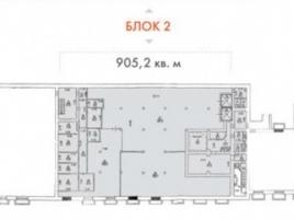 Лот № 6941, Продажа офисов в САО - План