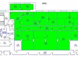 Лот № 6946, Бизнес-парк Донской, Аренда офисов в ЮАО - План