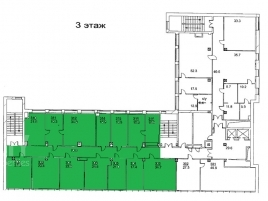 Лот № 6966, Аренда офисов в ЦАО - План