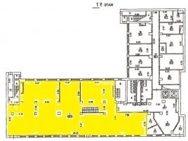 Лот № 6967, Аренда офисов в ЦАО - План