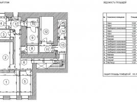 Лот № 6971, Продажа офисов в ЦАО - План