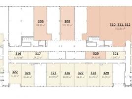Лот № 6976, БЦ Seven ONE, Продажа офисов в САО - План