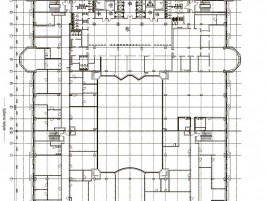 Лот № 6977, БЦ Новинский пассаж, Аренда офисов в ЦАО - План