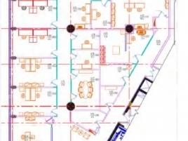 Лот № 6989, Бизнес-центр Белая Площадь (White Square), Аренда офисов в ЦАО - План