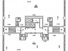 Лот № 7006, БЦ Вика, Продажа офисов в ЦАО - План