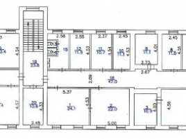 Лот № 7010, Продажа офисов в ВАО - План