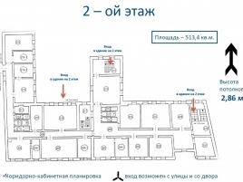 Лот № 7014, Продажа офисов в ЦАО - План