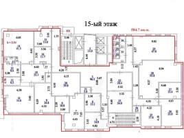 Лот № 7020, БЦ Центр Юнион, Аренда офисов в ЮВАО - План