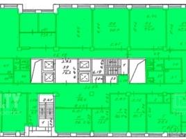 Лот № 702, Бизнес центр Крылатский, Аренда офисов в ЗАО - План