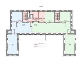 Лот № 7068, Аренда офисов в СВАО - План