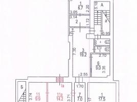 Лот № 7202, Продажа офисов в ЦАО - План