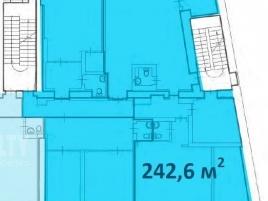 Лот № 7235, Деловой центр «Полянка 7», Продажа офисов в ЦАО - План