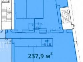 Лот № 7238, Деловой центр «Полянка 7», Продажа офисов в ЦАО - План