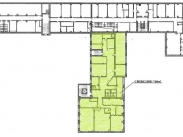 Лот № 7296, Аренда офисов в САО - План