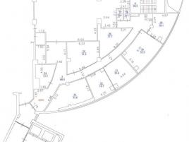 Лот № 734, БЦ «Авиа-Плаза», Продажа офисов в ЮВАО - План