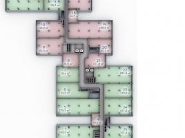 Лот № 7398, БЦ Port Plaza, Продажа офисов в ЮАО - План