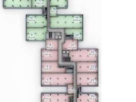 Лот № 7400, БЦ Port Plaza, Продажа офисов в ЮАО - План