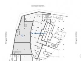 Лот № 7477, ЖК Триколор, Продажа офисов в СВАО - План