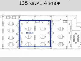 Лот № 7520, Аренда офисов в ЦАО - План
