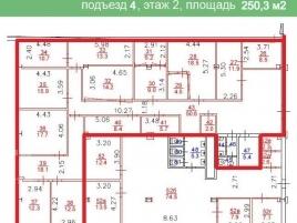 Лот № 7579, Бизнес-центр Дербеневская Плаза, Аренда офисов в ЦАО - План