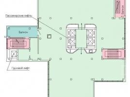 Лот № 7602, БЦ Neo Geo, Продажа офисов в ЮЗАО - План