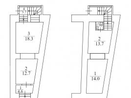 Лот № 7960, Продажа офисов в ЦАО - План