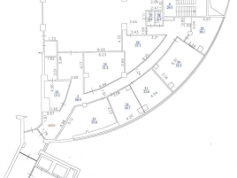 Лот № 823, БЦ «Авиа-Плаза», Аренда офисов в ЮВАО - План