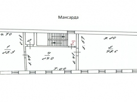 Лот № 894, Продажа офисов в ЦАО - План