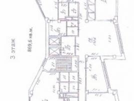 Лот № 904, Бизнес-центр Крылатский II, Аренда офисов в ЗАО - План