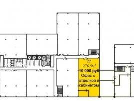 Лот № 932, Бизнес-центр West Plaza, Аренда офисов в ЮЗАО - План