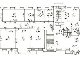Лот № 9483, Административно-офисное здание, Аренда офисов в ЦАО - План