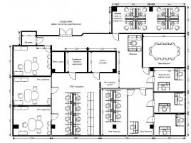 Лот № 995, Бизнес-центр Капитал Тауэр, Аренда офисов в ЦАО - План